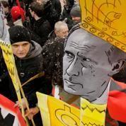 L'opposition russe s'affiche contre Poutine