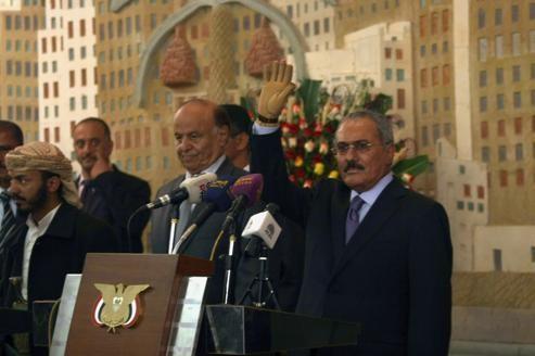 Yémen: Saleh a transmis son pouvoir à Mansour Hadi