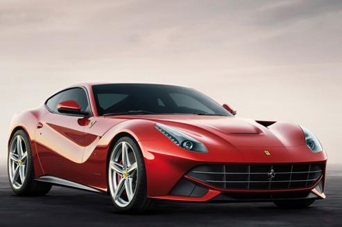 Ferrari f12 berlinetta, charmante italienne