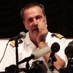 Le capitaine du Costa Allegra, Niccolo Alba, jeudi à Victoria.