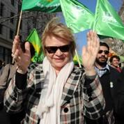 Joly manifeste en petit comité à Montpellier