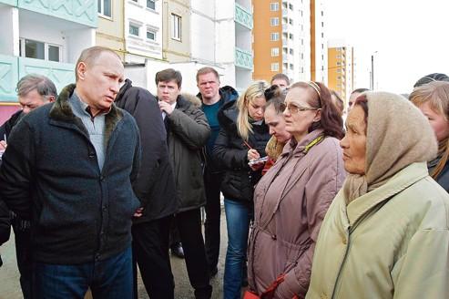 À Semiluki, ils votent Poutine et regrettent leur kolkhoze - Le Figaro