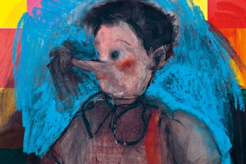 Jim Dine à la galerie Daniel Templon