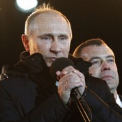 Vladimir Poutine de retour au Kremlin