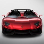 Lamborghini AventadorJ surprise décoiffante