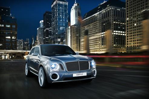 Bentley dévoile un SUV à Genève