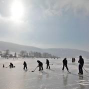 Le hockey sur glace menacé par le climat