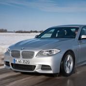 La BMW M550d met le feu aux poudres