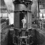La tourelle pivotante est le clou de la construction de la Souteraine.