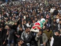 Samedi, des milliers de Gazaouis ont assisté aux funérailles.