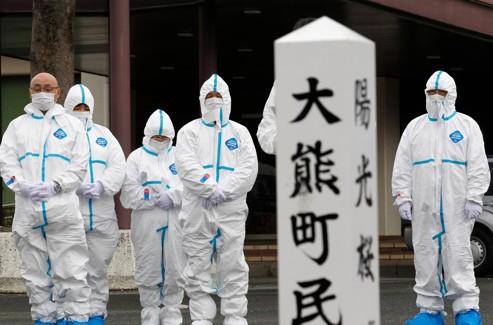 À Okuma, dans la province de Fukushima.