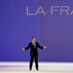 Nicolas Sarkozy, dimanche, à Villepinte.
