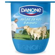 Danone : coup de jeune à ses pots de yaourt