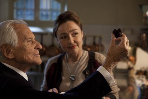 Jean d'Ormesson sera Mitterrand au cinéma