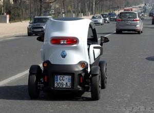 La Renault Twizy à l'épreuve de la ville