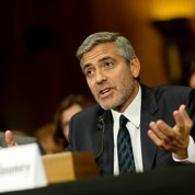 Clooney appelle à l'aide humanitaire au Soudan