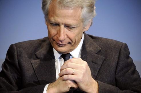 Villepin «empêché» d'être candidat