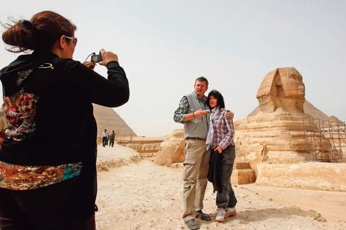 Les ventes de voyages à destination de l'Egypte sont encore loin de leur niveau de 2010.