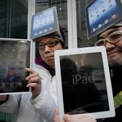Le nouvel iPad en boutiques, Apple au top