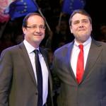 François Hollande et Sigmar Gabriel.