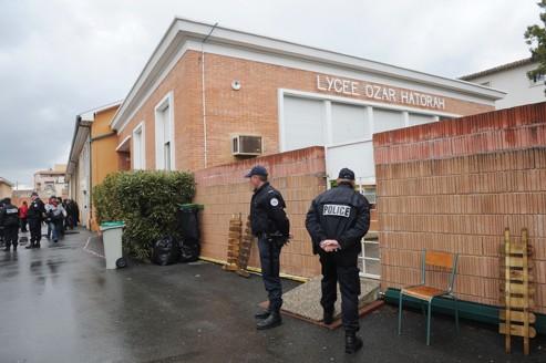 L'école juive Ozar-Hatorah, dans le quartier résidentiel Bonnefoy, à Toulouse.