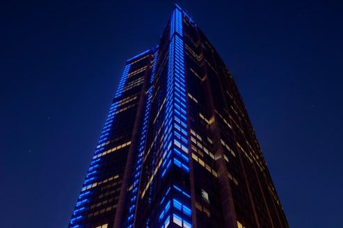 La tour Montparnasse reprend des couleurs