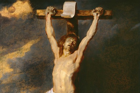 Crucifiction de Piere-Paul Rubens chez Bernheimer-Colnaghi.