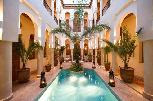 Riads et palaces, à Marrakech