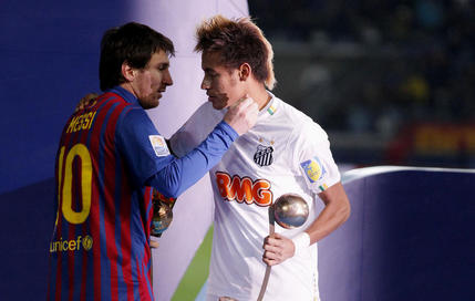 Neymar au Barça en 2014 ?