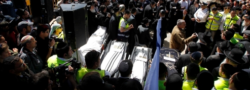 En Isra�l, �moi aux obs�ques <br>des victimes de la tuerie de Toulouse
