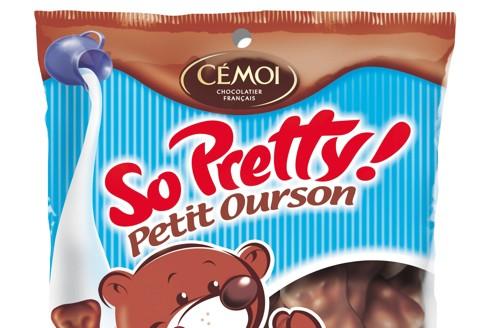 La confiserie du chocolatier Cémoi, qui fête cette année ses cinquante ans, a été baptisée «So Pretty» outre-Atlantique.