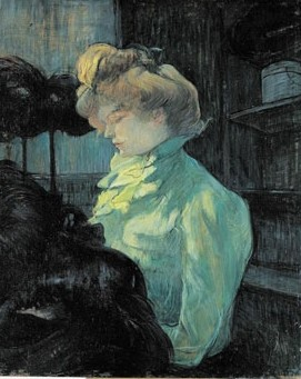 La modiste, 1900. (© Collection musée Toulouse-Lautrec, Albi, Tarn, France)