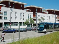 Le quartier Carriet de Lormont (33) renaît grâce au tramway. Crédits photo: ANRU