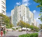Dans le centre de Courbevoie, l'immeuble Sky de Cogedim.
