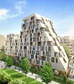 Au coeur des Batignolles, à Paris, l'un des trois projets de Vinci Immobilier.