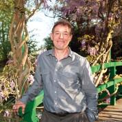 Un Anglais dans le jardin de Monet