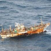 Un chalutier retrouvé un an après le tsunami