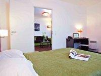 Appartement à Dijon proposé par Adagio à une clientèle d'affaires.