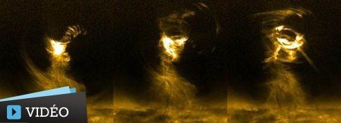 La Nasa filme une gigantesque tornade solaire