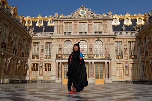 Joana Vasconcelos, artiste portugaise née à Paris, sera la première de son genre à investir Versailles. (Photo François Bouchon/ Le Figaro)