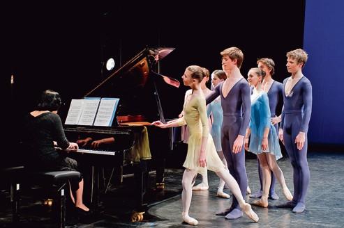Le ballet de l'école de l'Opéra de Paris