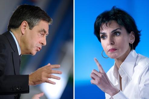 François Fillon et Rachida Dati briguent tous les deux la 2e circonscription de Paris.