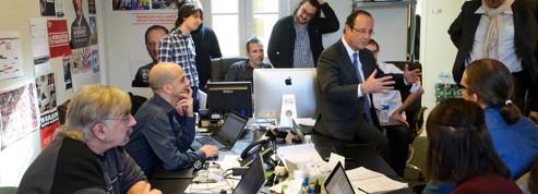 Sarkozy-Hollande, la guerre du Web