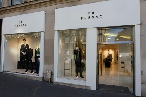 Boutique de Fursac, à Paris.
