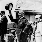 1919 : Réception du Président Wilson