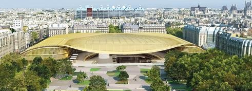 Paris : les travaux de construction de la Canopée des Halles s'accélèrent
