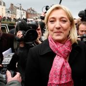 Marine Le Pen face à l'offensive Mélenchon
