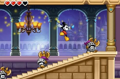 Mickey joue sur la fibre nostalgique sur 3DS