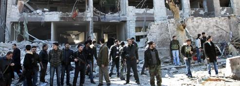 Les nouvelles cibles<br/>des rebelles syriens
