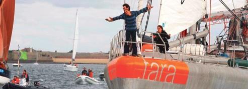 Tara ,le chasseur de plancton, de retour à quai